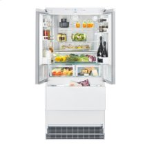 "36"" Combined refrigerator-freezer with NoFrost for integrated use"
