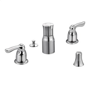 Chateau chrome two-handle bidet faucet Product Image
