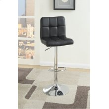 F1565 / Cat.19.p62- ADJUSTABLE BARSTOOL BLK