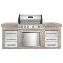 Built-In Mirage 605-2 with Infrared Burners - DISCONTINUED