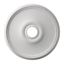 Brittany Medallion 19 Inch in White Finish