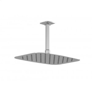 Shower Head With Vertical or Wall Arm - Chrome Product Image