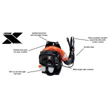 PB-770 Backpack Leaf Blower with Tube Throttle ECHO X Series