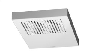 JUST RAIN Rain shower wall-mounted - polished stainless steel Product Image