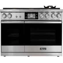 "48"" Range, Stainless Steel, Natural Gas"