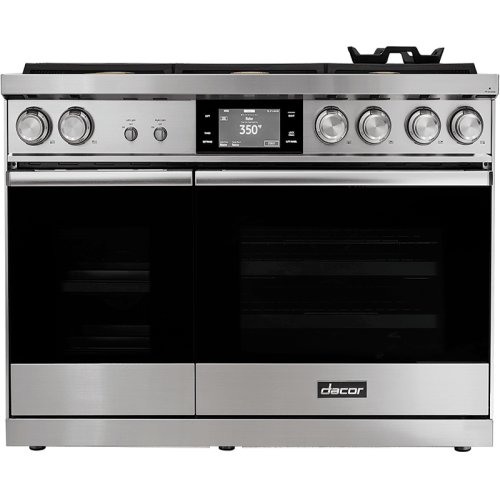 """48"""" Range, Stainless Steel, Natural Gas/High Altitude"""