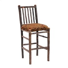"Counter Stool - 24"" high - Natural Hickory - Standard Fabric"