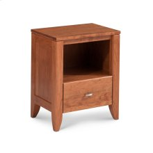 Justine Nightstand with Opening