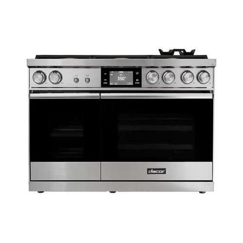 "48"" Range, Graphite Stainless Steel, Natural Gas"
