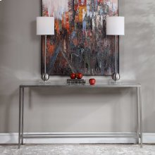 Hayley Console Table, Silver