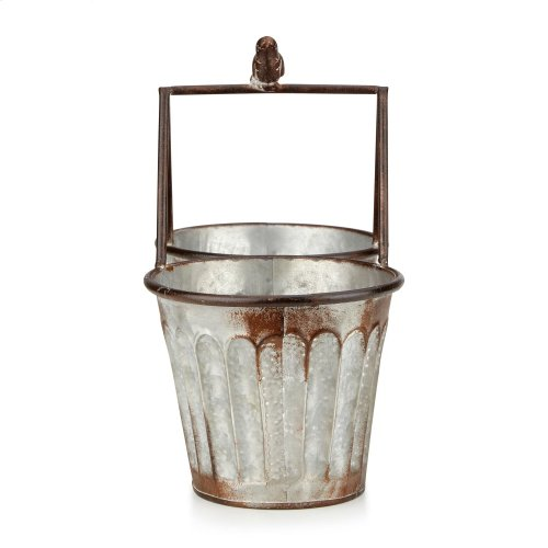 Dianna Metal Double Planters