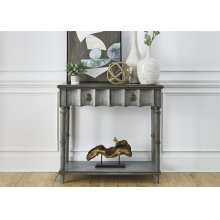 2010-AT3836  2 Drawer Accent Table
