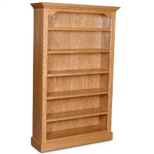 "Classic Tall Category III Bookcase, Classic Tall Category III Bookcase, 5-Adjustable Shelves, 46""w"