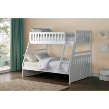 HOMELEGANCE B2053TFW-B2053TFW-B2053TFW Galen Twin Over Full Bunk Bed
