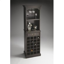 Wine Storage Cabinet (item Ships In Two Cartons)