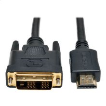 HDMI to DVI Cable, Digital Monitor Adapter Cable (HDMI to DVI-D M/M), 1080P, 20-ft.