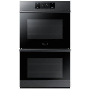 "30"" Steam-Assisted Double Wall Oven, Graphite Stainless Steel Product Image"