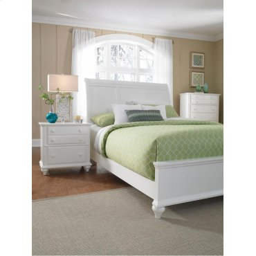 Hayden Place Sleigh Bed King with Storage