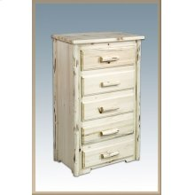 Montana Log 5 Drawer Chest of Drawers