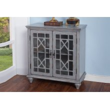 MARCELINE 2 DOOR ACCENT-GRAY