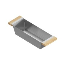 Colander 205325 - Stainless steel sink accessory , Maple