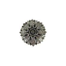 Victorian Flower - Brite Nickel