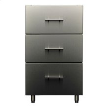 Signature Outdoor Base Cabinet - 3 Drawers