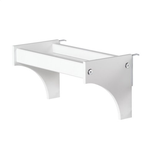 Bedside Tray : White