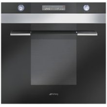 "60CM (approx 24"") ""Linea"" Electric Multifunction Oven Black"
