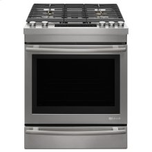 "Euro-Style 30"" Dual™-Fuel Range, Stainless Steel"