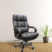 DC#300HD-ASH - DESK CHAIR Fabric Heavy Duty Desk Chair - 500 lb.