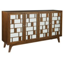 Mid Century Modern Entertainment Console