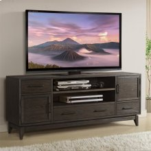 Vogue - 74-inch TV Console - Umber Finish