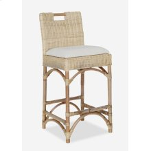 Natural Rattan Counterstool (17X18X36)