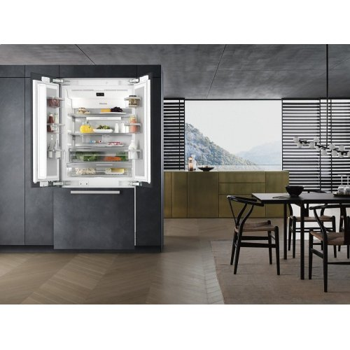 KF 2981 Vi MasterCool FrenchDoor For high-end design and technology on a large scale.