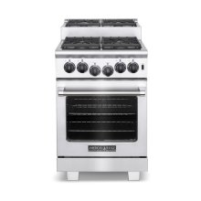 "24"" Titan Step-up Gas Range"