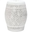 Diamond Garden Stool - Cream Product Image