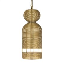 Medium Hampton Wrapped wire pendant
