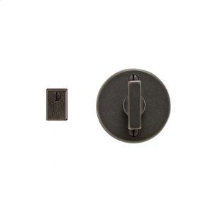 Round Metro Mortise Bolt Silicon Bronze Brushed Product Image