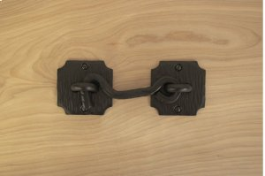 "4.5"" Black 3.5"" & 6"" Gate Latch 750350 Product Image"