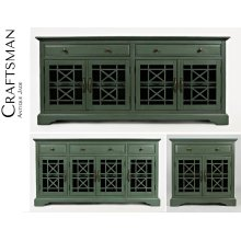 Craftsman Antique Jade Accent Chest