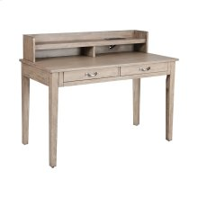 Comer Transitional Writing Desk In Grey Twilight