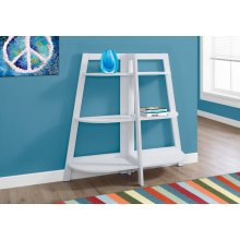 "BOOKCASE - 48""H / WHITE ACCENT ETAGERE"