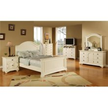 BP700NSW Brook White Nightstand