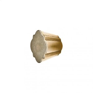 Quatrafoil Cabinet Knob - CK10010 Silicon Bronze Brushed Product Image