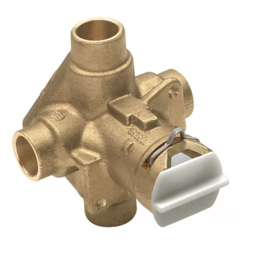 """M-Pact includes bulk pack posi-temp® 1/2"""" cc connection pressure balancing"""