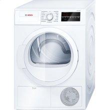 300 Series Cond. Dryer - 208/240V, Cap. 4.0 cu.ft., 15 Cyc.,67 dBA Galv.Drum, White/Door Non-Rev.