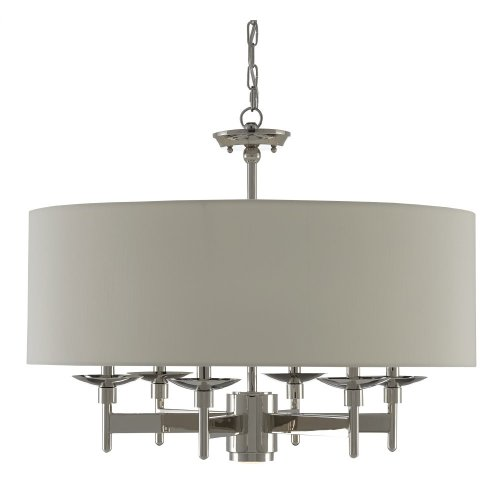 Bering Nickel Chandelier