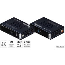 4K HDMI Extender, Booster & Buffer of EDID, TMDS, Hot Plug Control, Audio De-Embedding, HDR10, HDCP2.2