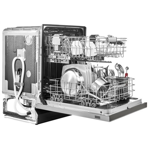 SCRATCH AND DENT 46 DBA Dishwasher with ProWash , Front Control - PrintShield Stainless